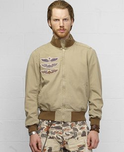 Denim & Supply Ralph Lauren - Twill Bomber Jacket