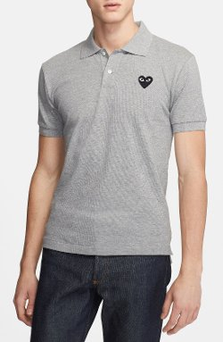 Comme Des Garçons - Play Piqué Polo Shirt