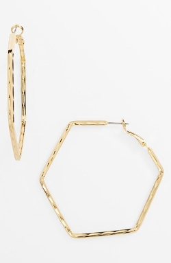 Panacea - Geometric Hoop Earrings