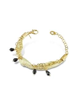 Daco Milano - Multi-Strand Sterling Silver Lace Bracelet