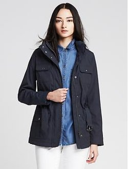 Banana Republic - Convertible Navy Field Jacket
