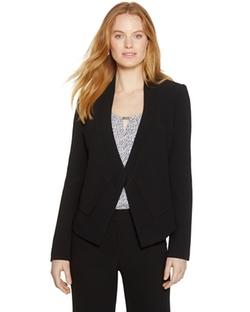 White House Black Market - Long Sleeve Soft Drape Blazer