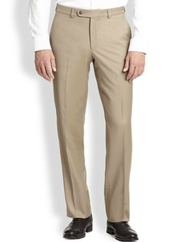 Saks Fifth Avenue Collection  - Basic Wool Trousers