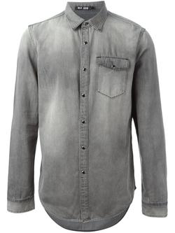 Blk Dnm - Stone Washed Denim Shirt