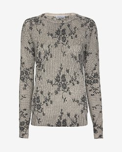 Equipment  - Sloane Floral Pattern Sweater