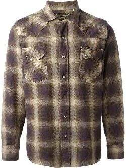 Indigofera - Checked Flannel Shirt