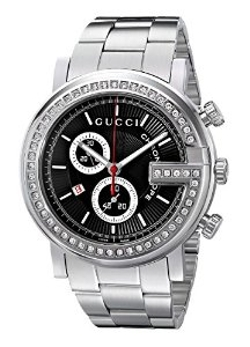 Gucci - G-Chrono Diamond Case Dial Watch