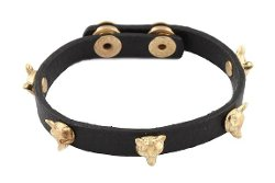 JOTW - Fox Heads Adjustable Snap Bracelet