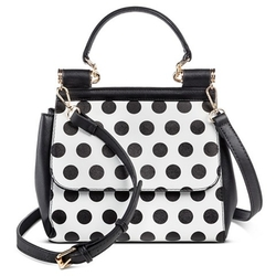 Miztique - Polka Dot Satchel Handbag