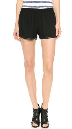 alice + olivia - Elastic Waist Jogging Shorts