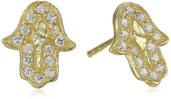 Chan Luu - Hamsa Stud Earrings