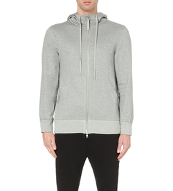 Helmut Lang - Cotton-Terry Zipped Hoody Jacket