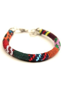 Beadkreative - Fabric Multicolor Bracelet
