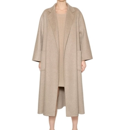 Max Mara - Draped Cashmere Coat