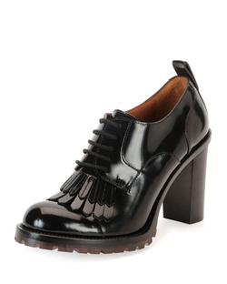 Valentino - Vitello Leather Loafer Pumps