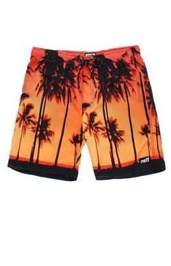 Pacsun - Hot Tub Palm Tree Boardshorts
