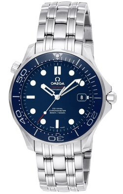 Omega - Seamaster Diver Automatic Silver Tone Watch