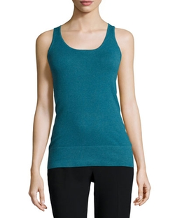 Minnie Rose - Scoop-Neck Jersey Essential Tank Top