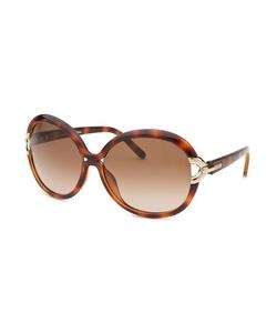 Chloe - Round Tortoise Sunglasses
