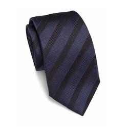 Armani Collezioni  - Pin Striped Silk Tie