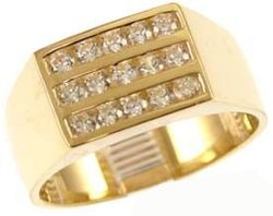 GiveMeGold - Modern Signet Style Ring