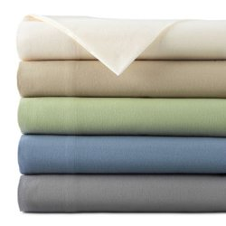 JCPenney Home - Solid Flannel Sheet Set