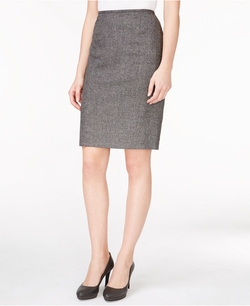 Calvin Klein - Tweed Pencil Skirt