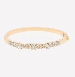 Bebe - Crystal Hinge Bracelet
