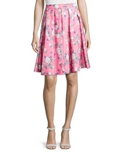 Erin Erin Fetherston - Josephine Floral-Print Skirt