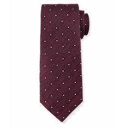 Ermenegildo Zegna - Diamond-Print Neat Tie