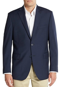 Saks Fifth Avenue - Slim-Fit Wool Sportcoat
