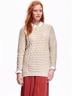 Old Navy - Cocoon Cable-Knit Sweater