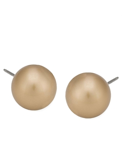 Carolee  - Faux Pearl Stud Earrings