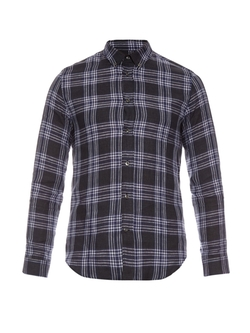 Maison Margiela - Plaid Checkered Linen Shirt