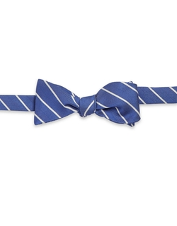 Brooks Brothers - Textured Striped Bow Tie