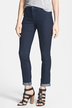 Second Yoga Jeans - Cuff Ankle Skinny Jeans