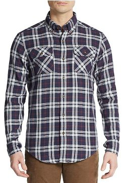 Gant By Michael Bastian -  Plaid Check Flannel Sportshirt