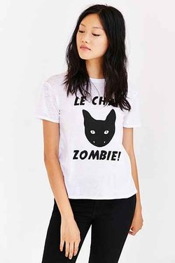 Mouchette - Le Chat ZombieTee