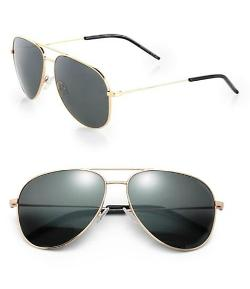Saint Laurent - Metal Aviator Sunglasses