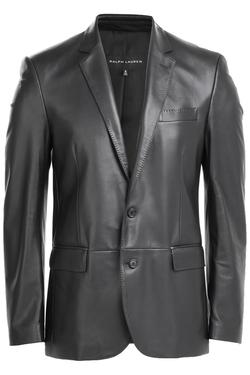 Ralph Lauren - Black Label Leather Sport Coat