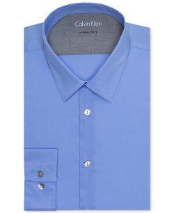 Calvin Klein  - Extra Slim-Fit Solid Dress Shirt