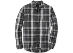Hurley  - Long-Sleeve Plaid Shirt