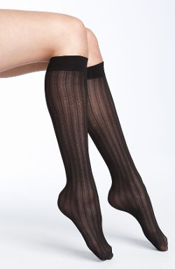 Nordstrom  - Mesh Stripe Trouser Socks