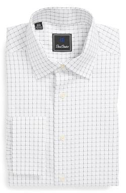 David Donahue  - Regular Fit Check Dress Shirt