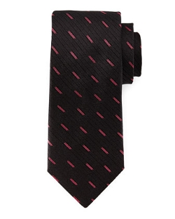 Robert Graham  - Rigid Tonal-Stripe Woven Tie