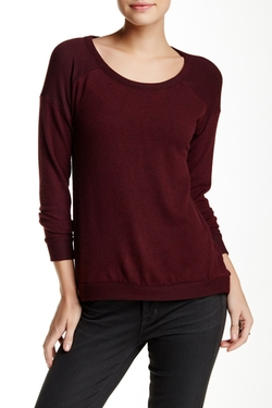 Harlowe & Graham  - Scoop Neck Pullover Sweater