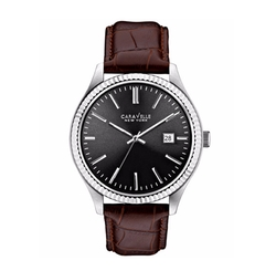 Caravelle New York - Leather Strap Watch