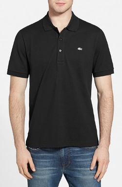 Lacoste  - Stretch Piqué Short Sleeve Polo Shirt