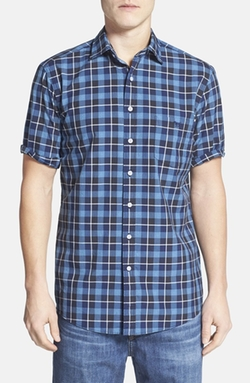 Rodd & Gunn - Plaid Short Sleeve Sport Shirt