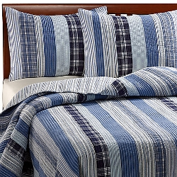 Bed Bath & Beyond - Montego Blue Quilt Comforter